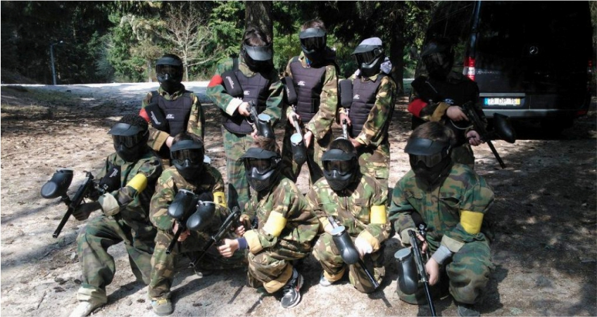 Paintball - Serra da meadas