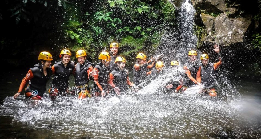 CANYONING SALTO DO CABRITO