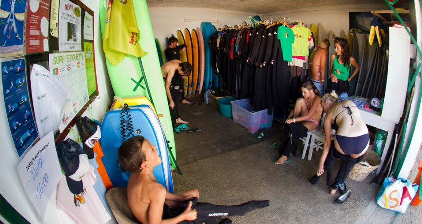 Odeceixe Surf School