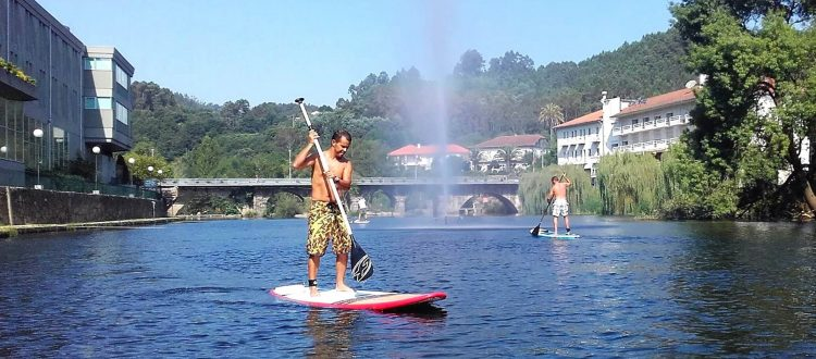 STAND UP PADDLE NO RIO VOUGA